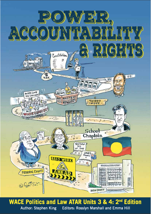 Power Accountability and Rights Text Book Cover